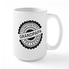 the man-the myth grandpapa Mugs