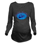 Worlds Greatest Pap Long Sleeve Maternity T-Shirt