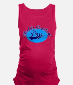 Worlds Greatest Pap Maternity Tank Top