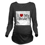 iheartmybride.png Long Sleeve Maternity T-Shirt