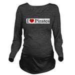 iheartpirates_long.png Long Sleeve Maternity T-Shi