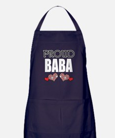 Proud BABA (2) Apron (dark)