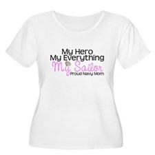 My Everything Navy Mom T-Shirt