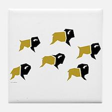 Colorado Buffalo Herd Tile Coaster