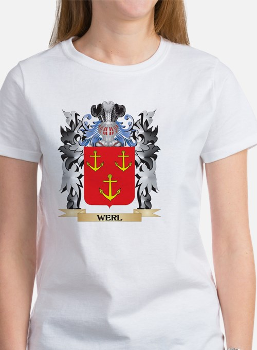 Werl Coat of Arms - Family Cres T-Shirt