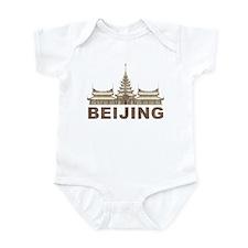 Vintage Beijing Temple Infant Bodysuit