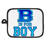 B is for Boy Potholder