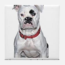 Cute Dog Tile Coaster