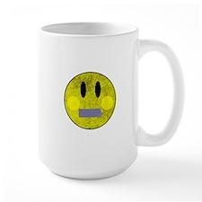Smiley Face Duct Tape Mug