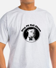 Stop Pitbull Abuse T-Shirt