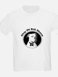 Stop Pitbull Abuse T-Shirt