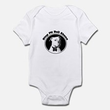 Stop Pitbull Abuse Infant Bodysuit