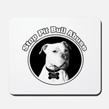 Stop Pitbull Abuse Mousepad