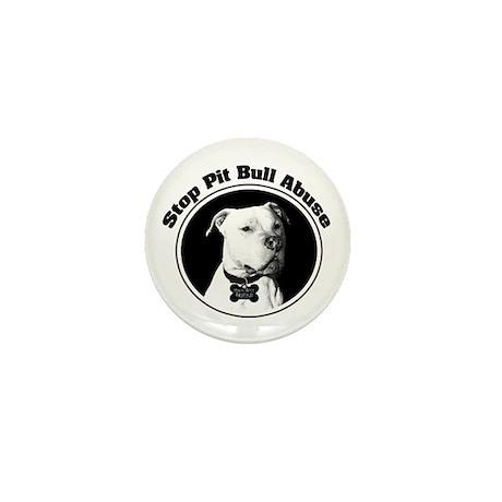Stop Pitbull Abuse Mini Button (10 pack)