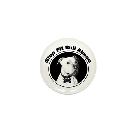 Stop Pitbull Abuse Mini Button (100 pack)