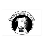 Stop Pitbull Abuse Postcards (Package of 8)