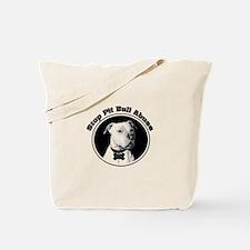 Stop Pitbull Abuse Tote Bag