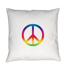 Peace sign.png Everyday Pillow