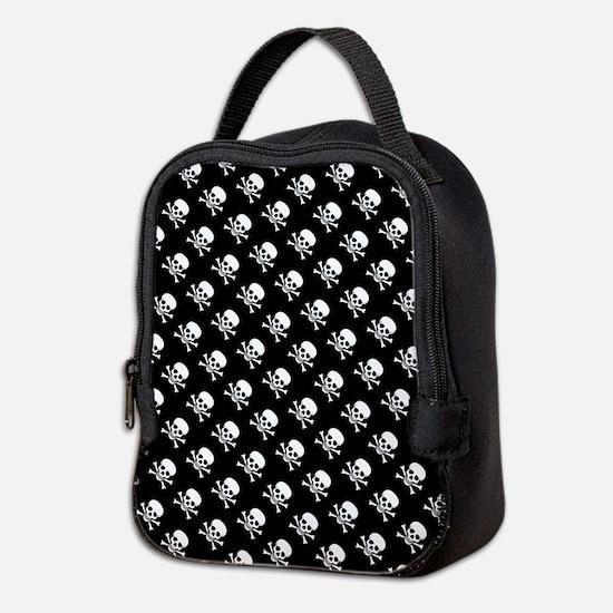 Skull n Crossbones Neoprene Lunch Bag