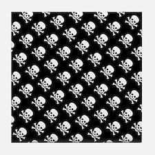 Skull n Crossbones Tile Coaster