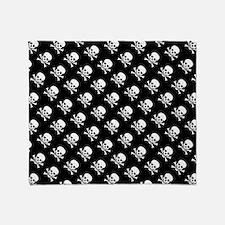 Skull n Crossbones Throw Blanket
