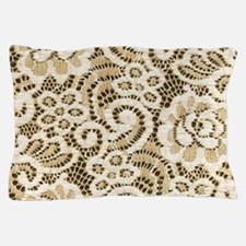western country floral lace Pillow Case