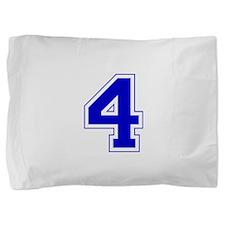 4 blue.png Pillow Sham