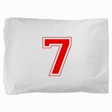 7 red.png Pillow Sham