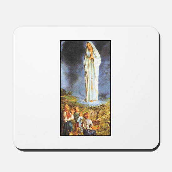 Our Lady of the Rosary - Fati Mousepad