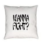Wanna fight.png Everyday Pillow