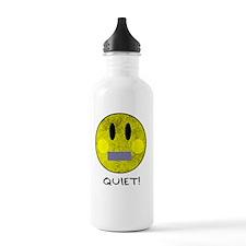 SMILEY FACE QUIET Water Bottle