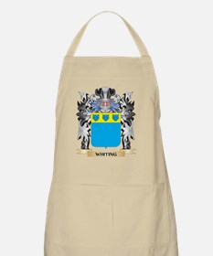 Whiting Coat of Arms - Family Crest Apron