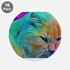 "Rainbow Elton 3.5"" Button (10 pack)"