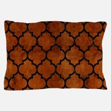 TIL1 BK MARBLE BURL (R) Pillow Case