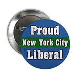 Proud New York Liberal Button