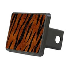 SKN3 BK MARBLE BURL (R) Hitch Cover