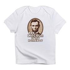 Cute Abe lincoln Infant T-Shirt