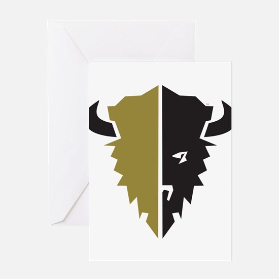 Boulder Buffalo Colorado Greeting Cards