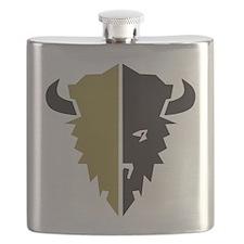 Boulder Buffalo Colorado Flask