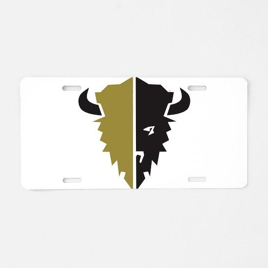 Boulder Buffalo Colorado Aluminum License Plate