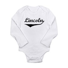 Abraham lincoln Long Sleeve Infant Bodysuit
