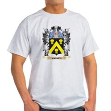 Wickes Coat of Arms - Family Cres T-Shirt
