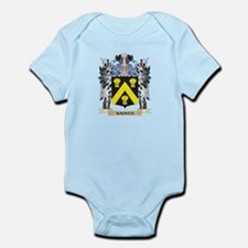 Wickes Coat of Arms - Family Crest Body Suit