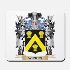 Wickes Coat of Arms - Family Crest Mousepad