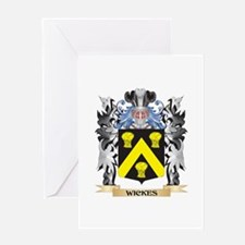 Wickes Coat of Arms - Family Crest Greeting Cards