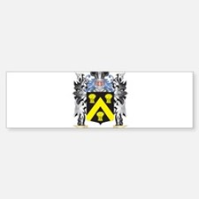 Wickes Coat of Arms - Family Crest Bumper Bumper Bumper Sticker
