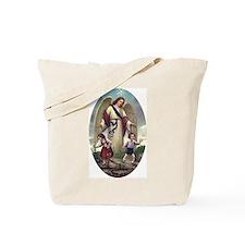 Vintage Guardian Angel Tote Bag