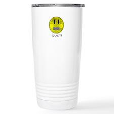 SMILEY FACE QUIET Travel Mug