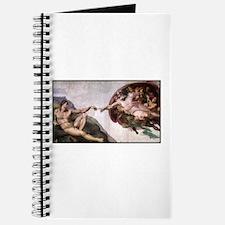 God creating Man Journal