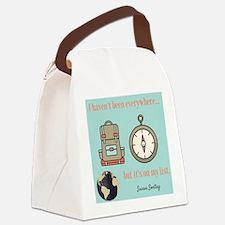 The Adventurer Canvas Lunch Bag